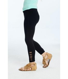 Chaser Tweens Chaser Love Knit Legging Black