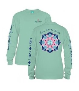 Simply Southern Simply Southern L/S Never Shirt Fresh