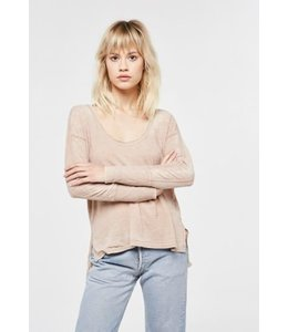 Project Social T L/S Aimee Thermal Shirt Sand