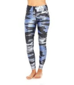 Zara Terez Women Terez Tall Band Camo Leggings Blue/Multi