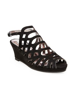 Steve Madden Jslithr Wedge Black