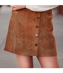 PPLA Tween PPLA Fera Woven Skirt Camel