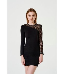 Sally Miller Sally Miller L/S Victoria Dress Black