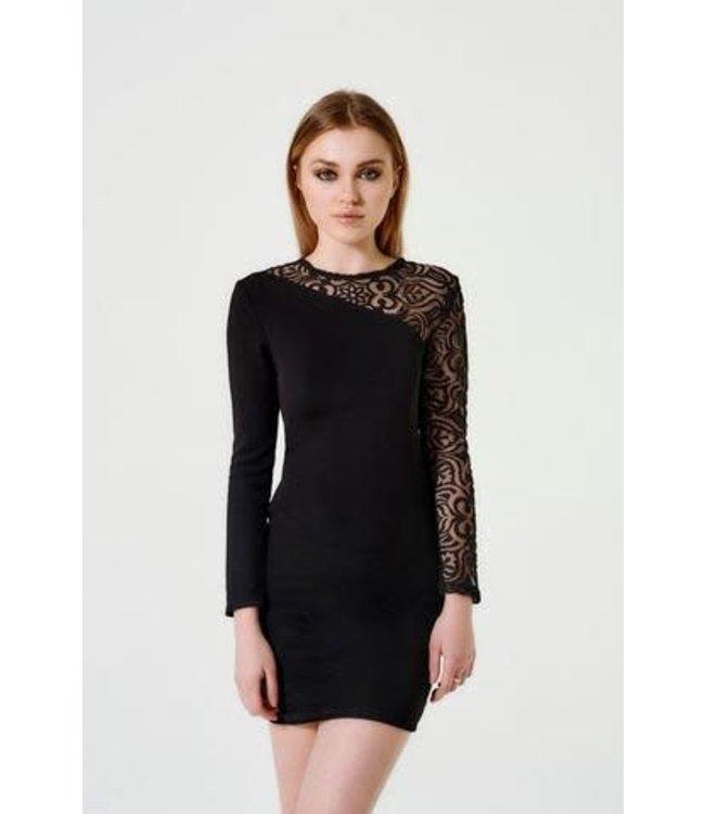 Sally Miller Sally Miller L/S Victoria Dress Black