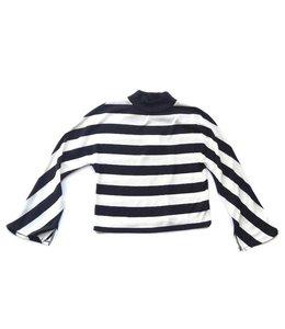 Splendid Splendid L/S Stripe Loode Knit Shirt Black/Off White