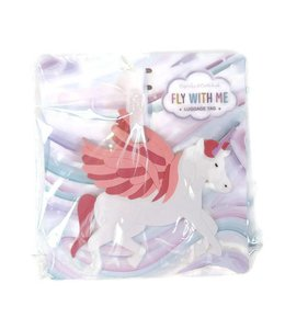 Two's Company TC Unicorn Luggage Tag