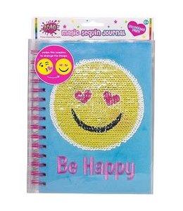 Emoji Sequin Journal