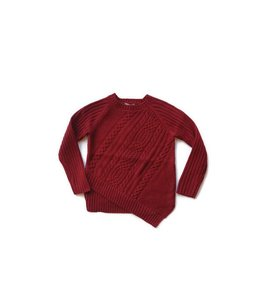 Mayoral Knit Sweater Wine