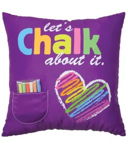 iScream Iscream Chalk Pillow