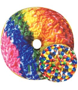 iScream Iscream Rainbow Sprinkles Donut Scented Pillow