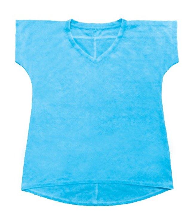 iScream Iscream Burnout High-Low Shirt Aqua