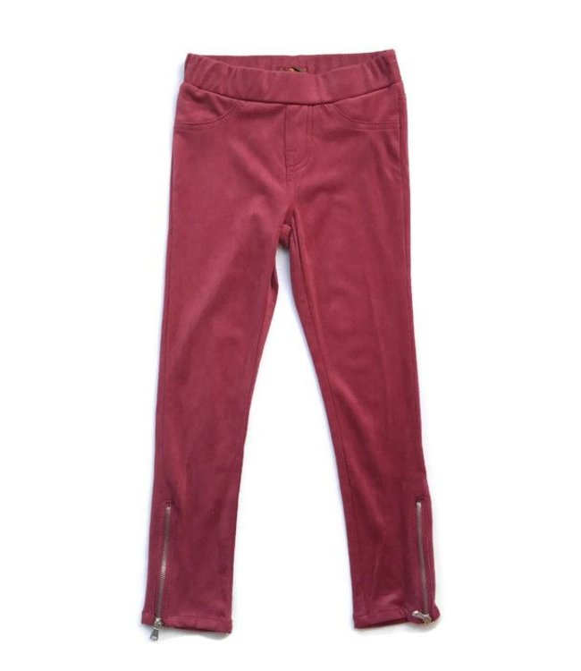 Soft Pant W/ Zipper