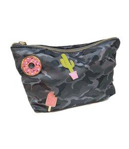 Malibu Sugar Malibu Sugar Camo Cosmetic Bag