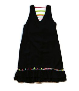 Jade Dress Black/Multi
