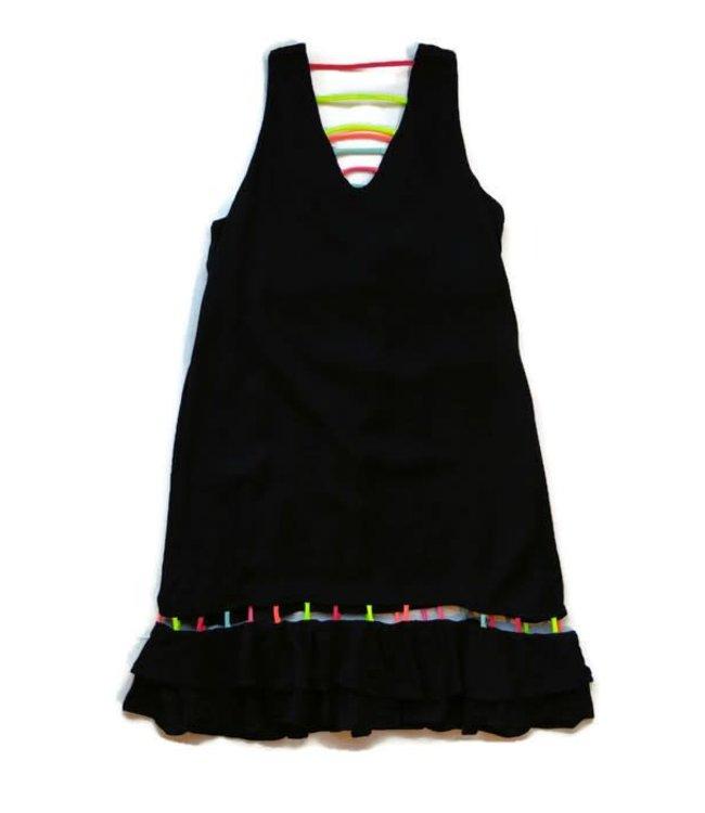 Jade Dress Black/Multi