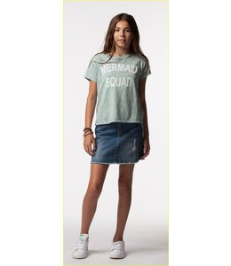 PPLA Tween PPLA Madelyn Denim Skirt Medium Wash