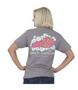 Simply Southern Simply Southern Preppy KY Shirt Steel
