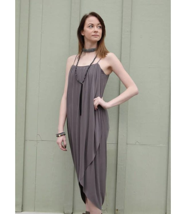 Sienna Dress Dusty Grey