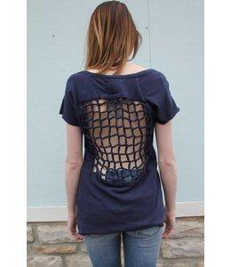 Chaser Women Chaser S/S Shirt Navy