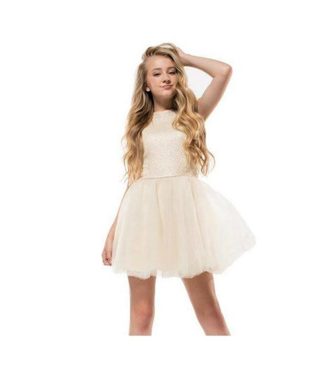 Miss Behave Miss Behave Ruby Dress Ivory
