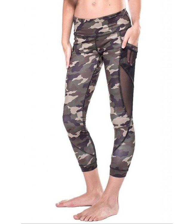 Miss Fit Laurie Legging Camouflage