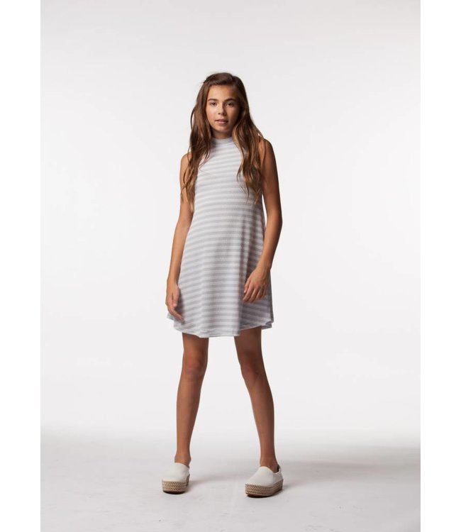 PPLA Tween PPLA Elouise Knit Dress Grey