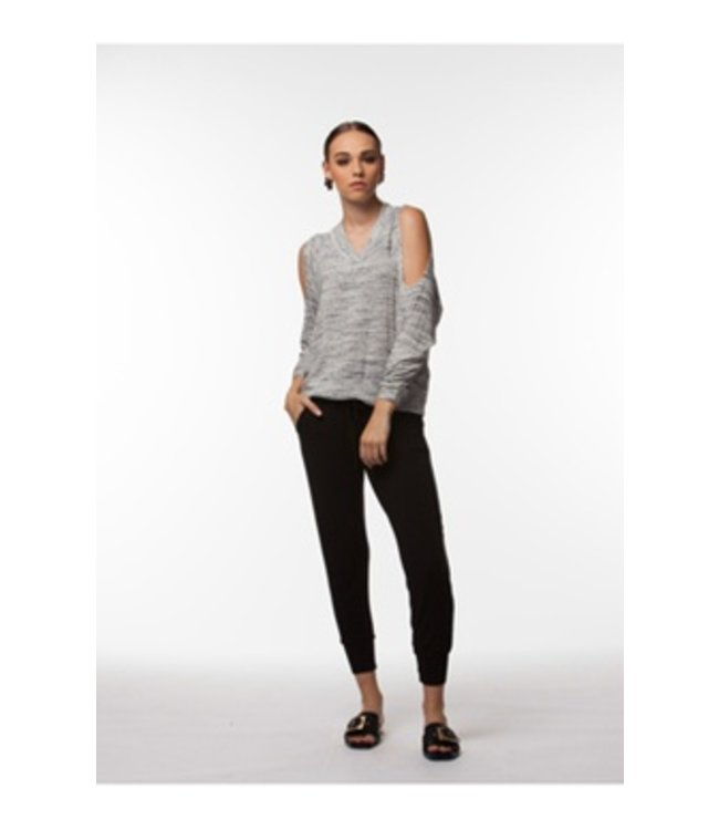 PPLA Camden Knit Sweater Grey