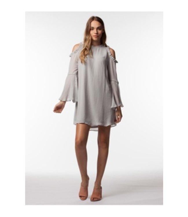 PPLA Camellia Woven Dress Grey