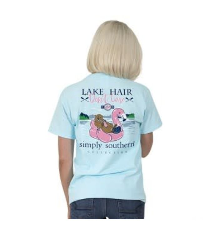 Simply Southern Simply Southern Preppy Lake Float Shirt Marine