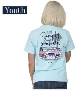 Simply Southern Simply Southern Preppy Van Shirt Marine