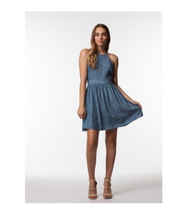 PPLA Harlen Woven Dress Blue