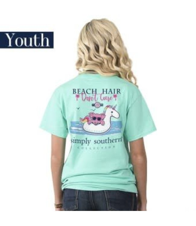Simply Southern Simply Southern Preppy Beach Float Shirt Aqua