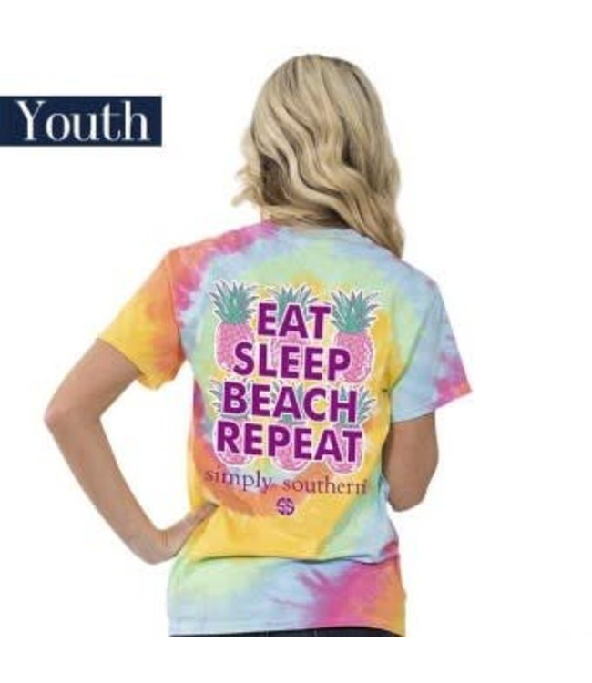 Simply Southern Simply Southern Preppy Repeat Shirt Tie Dye