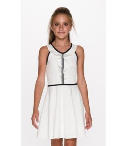 Sally Miller Sally Miller Jodi Dress Off White/Black