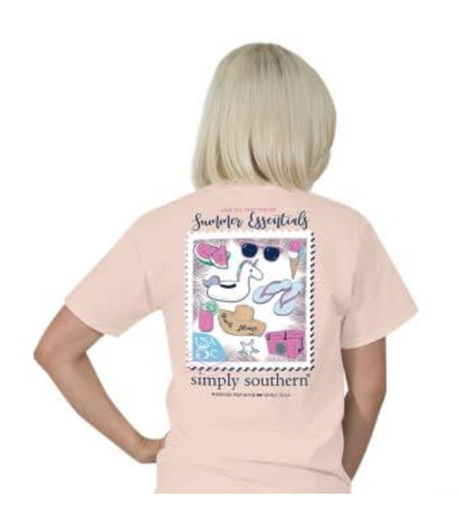 Simply Southern Simply Southern Preppy Essentials Shirt Roses