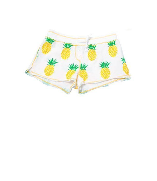Ragdoll and Rockets Ragdoll & Rockets Pineapple Shorts White/Multi