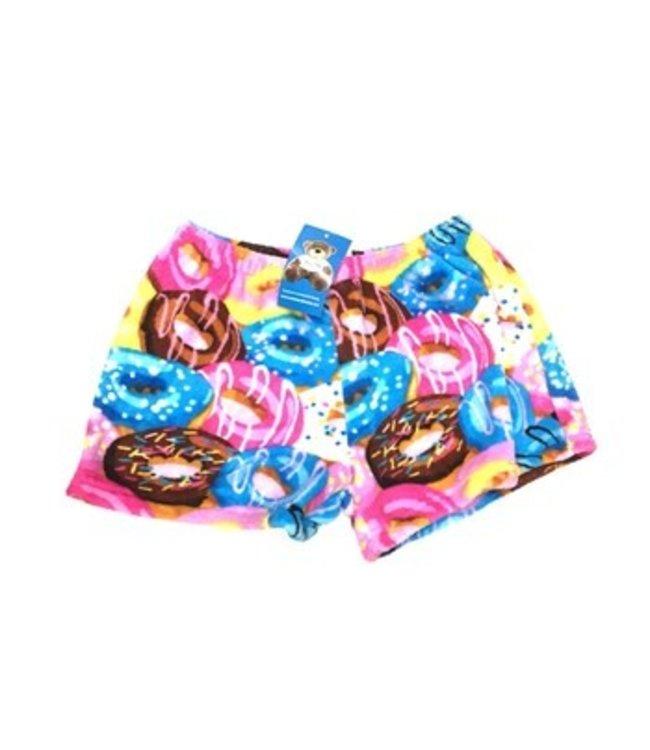 Confetti & Friends CF Fuzzy Crazy Donut Short Multi