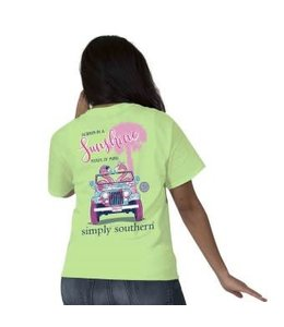 Simply Southern Simply Southern Preppy Flamingo Limeaid