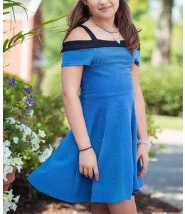 Sally Miller Kyla Dress Blue/Black