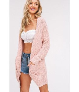Listicle Popcorn Texture Sweater