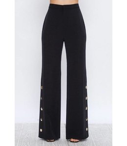 FlyingTomato Black Palazzo Pants