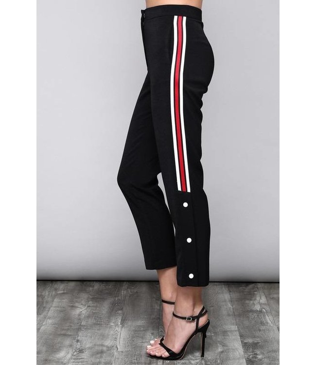 Gucci Inspired  Black Track Pant