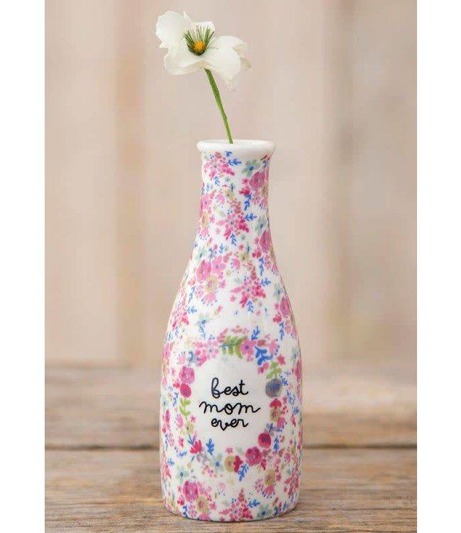 Natural Life Natural Life Bud Vase Best Mom Ever