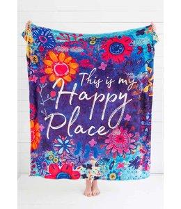 Natural Life Natural Life Happy Place Blanket