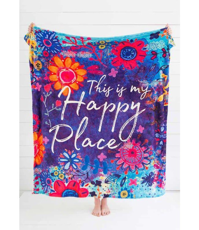Natural Life Natural Life Happy Place Blanket