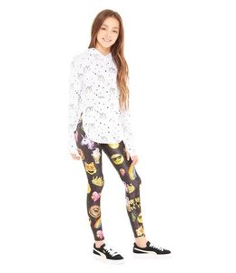 Terez Emojis By Hand Leggings Multi