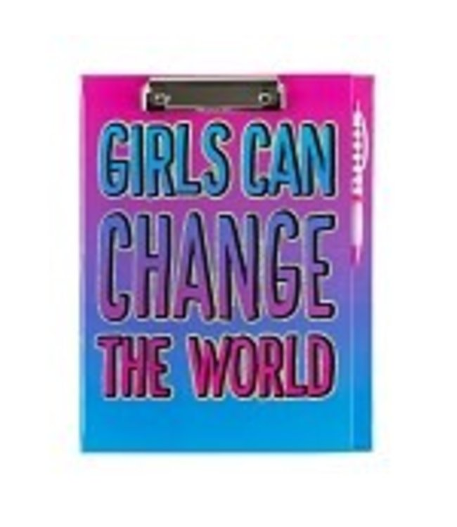 3c4g Girls Can Change The World Clipboard
