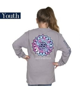 Simply Southern Simply Southern L/S Preppy Buttercup Shirt Steel