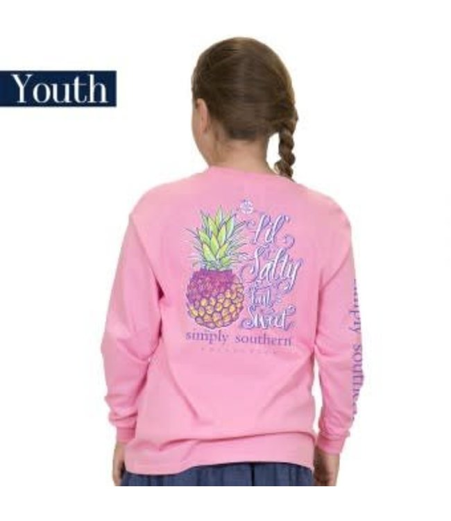 Simply Southern Simply Southern L/S Salty Shirt Flamingo