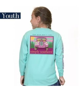 Simply Southern Simply Southern L/S Dont Shirt Aruba
